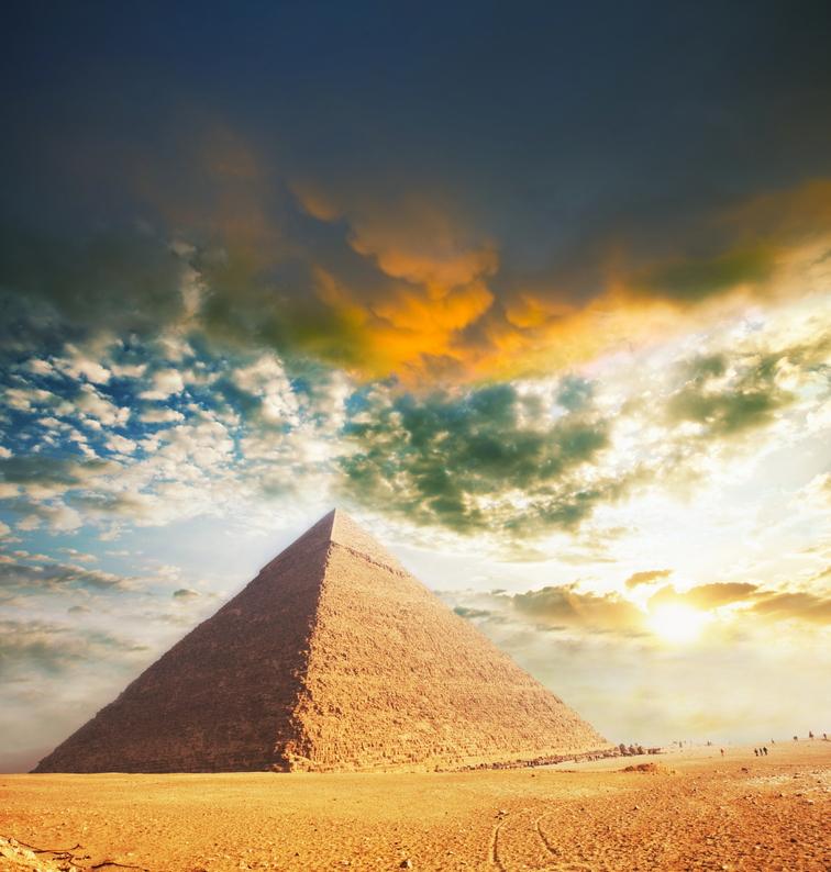 Pyramide der Ganzheit