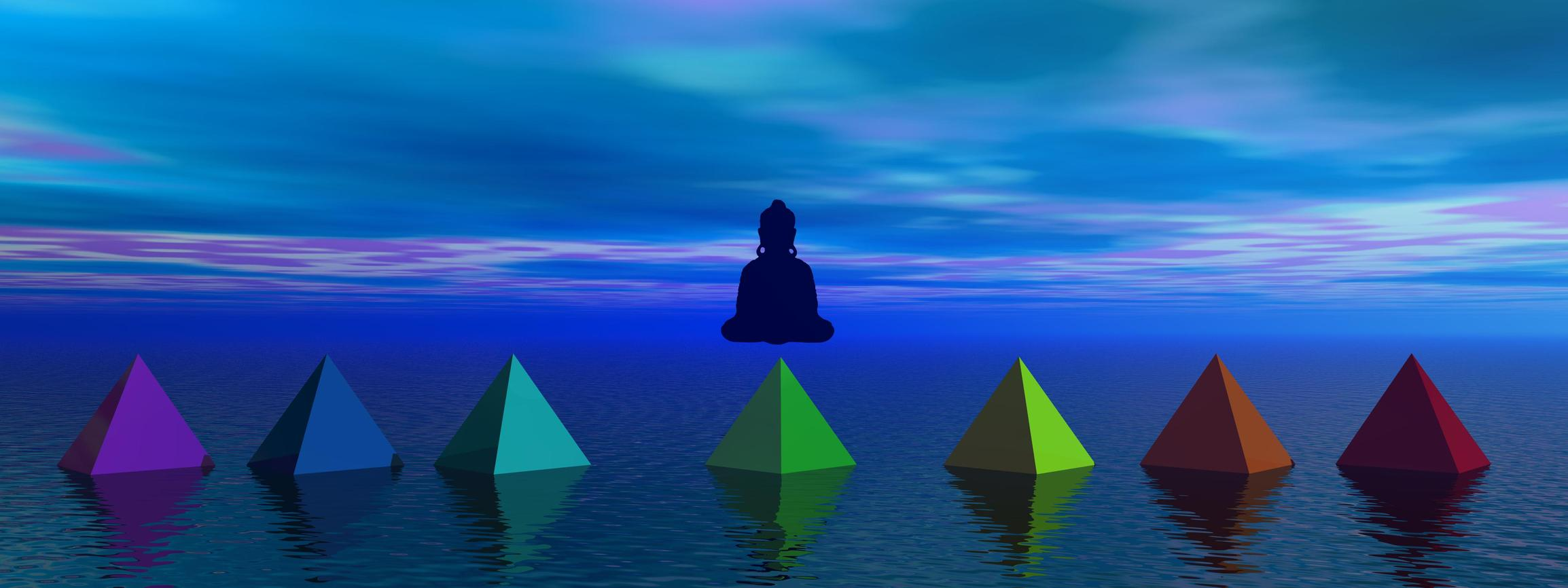 Meditationsabend Individualitaet finden Chakras